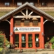 An image of the front entrance to the Adirondack Experience.